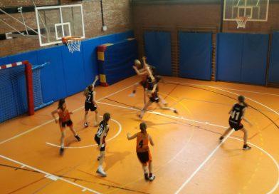 Crònica del Pre-infantil femení, Unió Esportiva Sant Cugat: 77 – CBS: 41