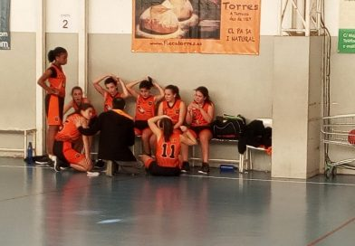 Crònica de l'infantil femení: CB Sant Pere Terrassa 49 – CB Solsona 44