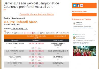Solsona acollirà la final a 8 del Campionat de Catalunya preinfantil masculí