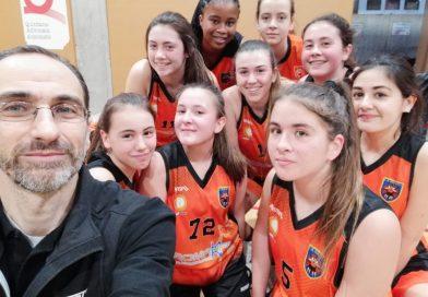 Crònica del cadet taronja femení, Sabadell Sant Nicolau: 41 – CB Solsona: 45