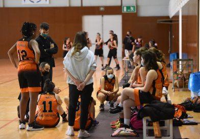 Galeria del cadet femení contra el Bàsquet Berga