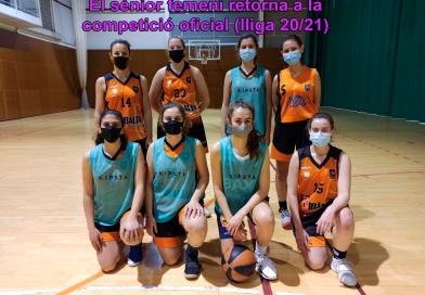 La lliga 2020/21 només la jugaran dos equips del club: el sènior femení i el cadet femení